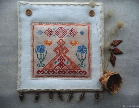 Русский сувенир, Оберег Счастье дома, оберег славянский, Лада ручной работы на заказ