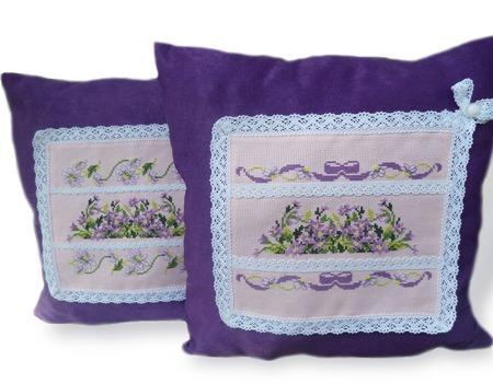 Подушки Весна в Провансе, декор интерьера, прованский стиль, подушки ручной работы на заказ