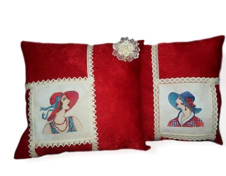Подушки декоративные Джаз ручной работы на заказ