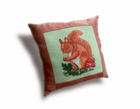 Подушки декоративные На опушке леса ручной работы на заказ