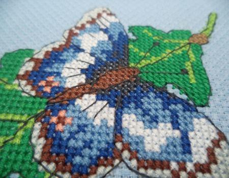 Обложка на паспорт Бабочка,подарок для женщины ручной работы на заказ
