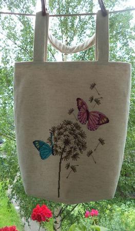 Сумка женская Весна, сумка с вышивкой, сумка льняная ручной работы на заказ