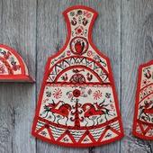 Кухонный набор Мезенский мотив