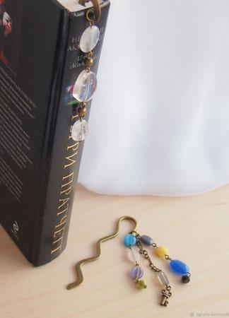 Закладки для книг и ежедневников 1 ручной работы на заказ