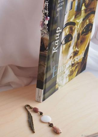 Закладки для книг и ежедневников 3 ручной работы на заказ