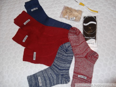 Носки в ассортименте (цена за пару) ручной работы на заказ
