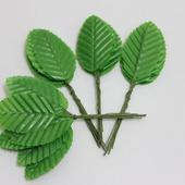 Листик. 10 см. Цвет зеленое яблоко (цена за 1 листик)