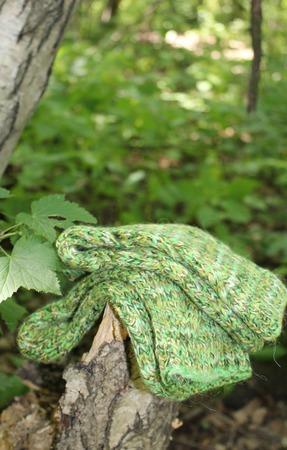 """38-39 р. Носочки """"Дачные.Зеленые"""" ручной работы на заказ"""