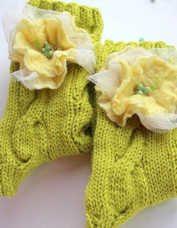 """Домашние носки """"Дюшес"""" ручной работы на заказ"""