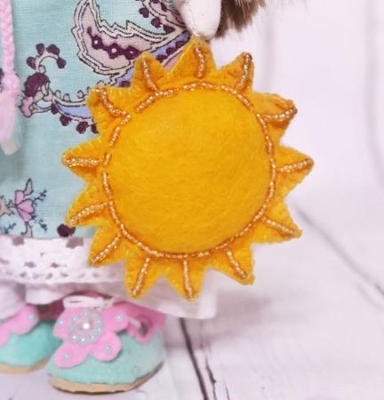 Кукла в народном стиле ручной работы на заказ