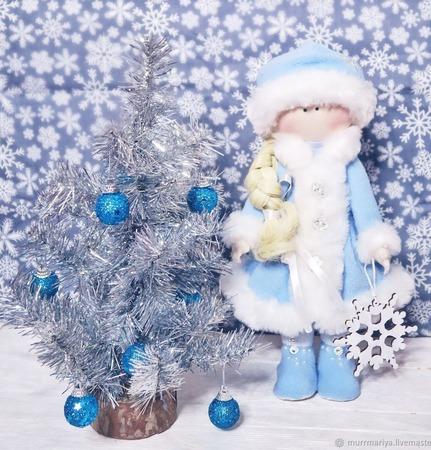 Снегурочка (Куколка-зима) ручной работы на заказ
