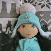 Кукла игровая в зимней одежке