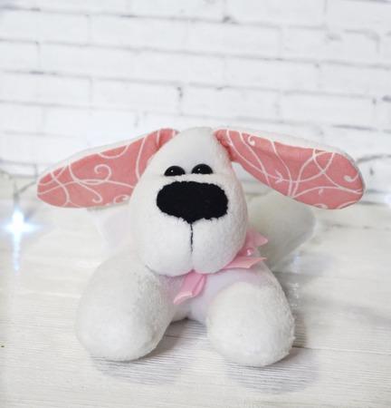 Собака - символ 2018 года ручной работы на заказ