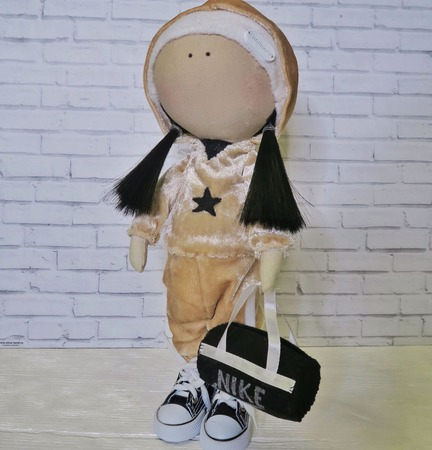 Кукла-спортсменка ручной работы на заказ