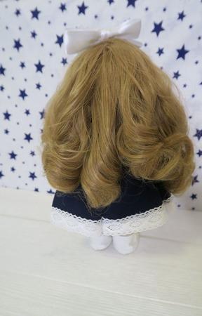 Кукла-школьница (первоклашка) ручной работы на заказ