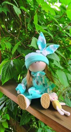 Кукла-зайка ручной работы на заказ
