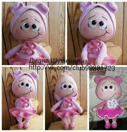 Кукла бони ручной работы на заказ