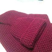 Комплект шарф и шапка мужской