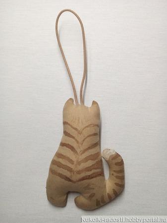 Кофейный котик ручной работы на заказ