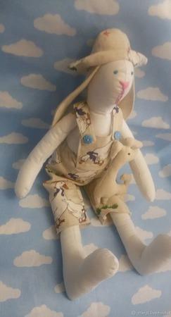 Заяц Тильда ручной работы на заказ