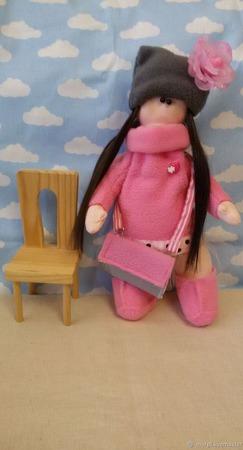 Кукла Вика ручной работы на заказ
