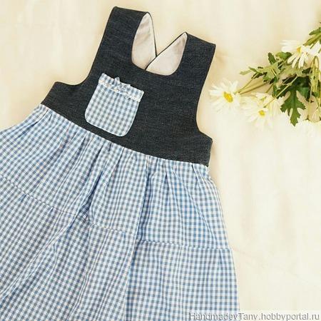 Платье для девочки ручной работы на заказ
