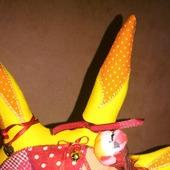 Текстильная интерьерная игрушка