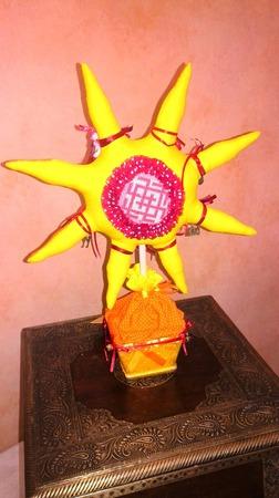Текстильная интерьерная игрушка ручной работы на заказ
