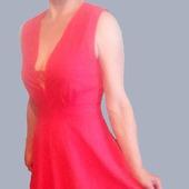 фото: Одежда (алое платье впол)