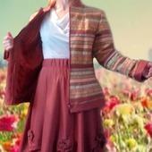 "Комплект: жакет и две юбки в пол, ""de Venise"" в стиле бохо"