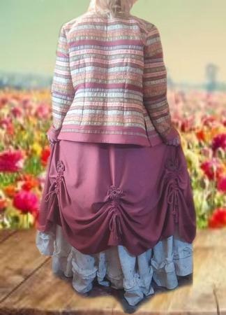 """Комплект: жакет и две юбки в пол, """"de Venise"""" в стиле бохо ручной работы на заказ"""