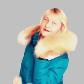 """Зимняя, женская куртка с мехом лисы """"ELLEN"""""""