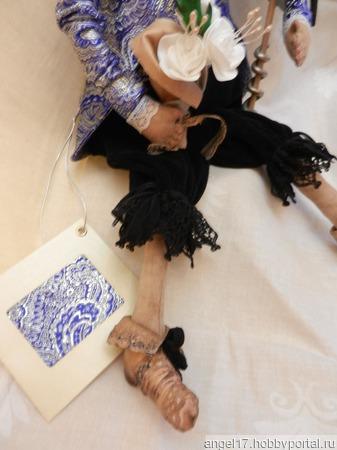 """Интерьерная текстильная кукла """"Заморский принц"""" ручной работы на заказ"""