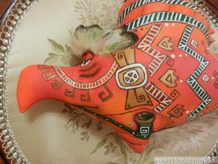 """Интерьерная текстильная игрушка """"Кондор"""" ручной работы на заказ"""