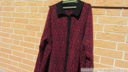 Пальто женское ручной работы на заказ