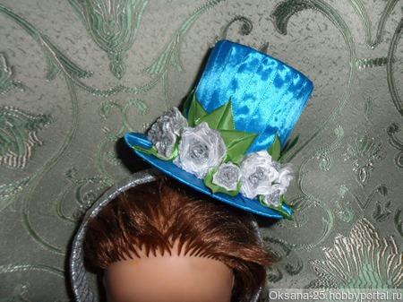 Шляпка на ободке ручной работы на заказ
