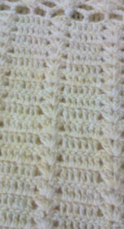 Туника ручного вязания Брызги  шампанского ручной работы на заказ