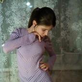Блузка вязаная крючком