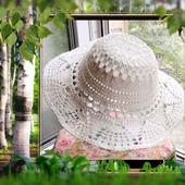 фото: вязаная шляпа