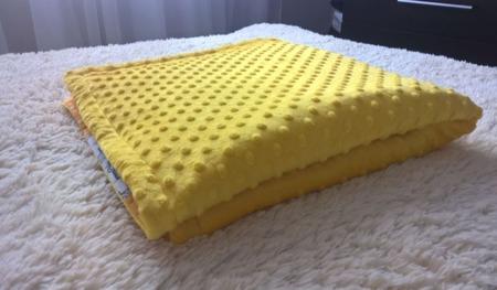 Одеяло лоскутное детское с плюшем Minky ручной работы на заказ