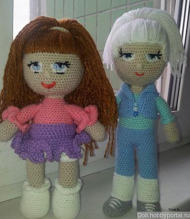 Куклы вязаные ручной работы на заказ