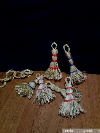 Эко веник Сувенир ручной работы на заказ