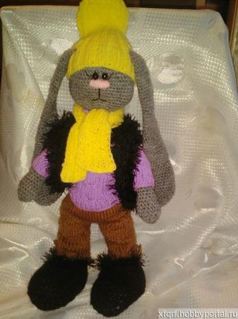 Заяц -тильда Тима ручной работы на заказ