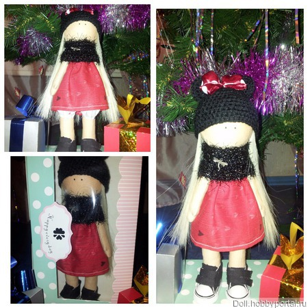 Куколка в стиле Минни Маус ручной работы на заказ