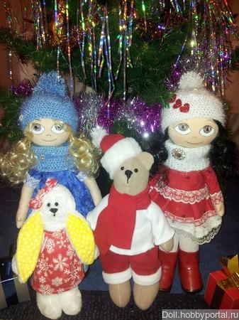 Куколки сестрички ручной работы на заказ