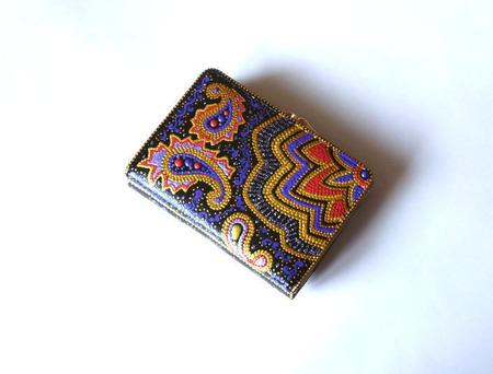 Кошелек женский точечная роспись Ассорти ручной работы на заказ