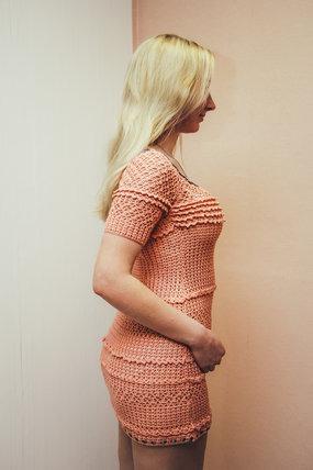 Платье для девочки крючком ручной работы на заказ
