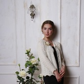 фото: Одежда (жакет вязаный женский)
