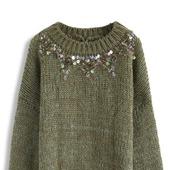 Дизайнерский вязаный свитер ручной вязки в Москве