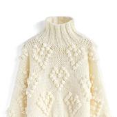 Вязаный свитер Шишечки ручной работы в Москве